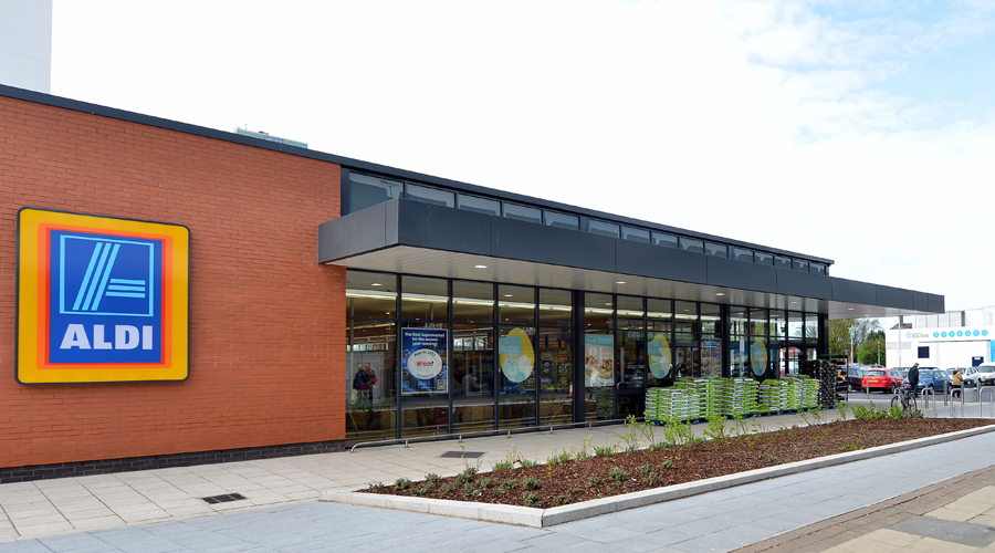 Nw architects aldi salford for Architects nw